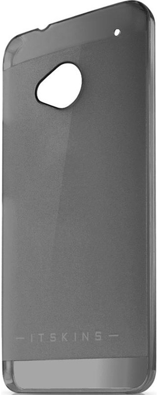Чехол-накладка itSkins Ghost cover case для HTC One/One Dual Sim Black - Фото 1