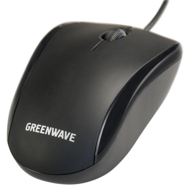 Мышь Greenwave Vantaa Black - Фото 1