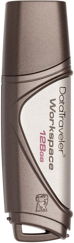 USB Flash Kingston DataTraveler Workspace USB 3.0 128Gb Silver - Фото 1