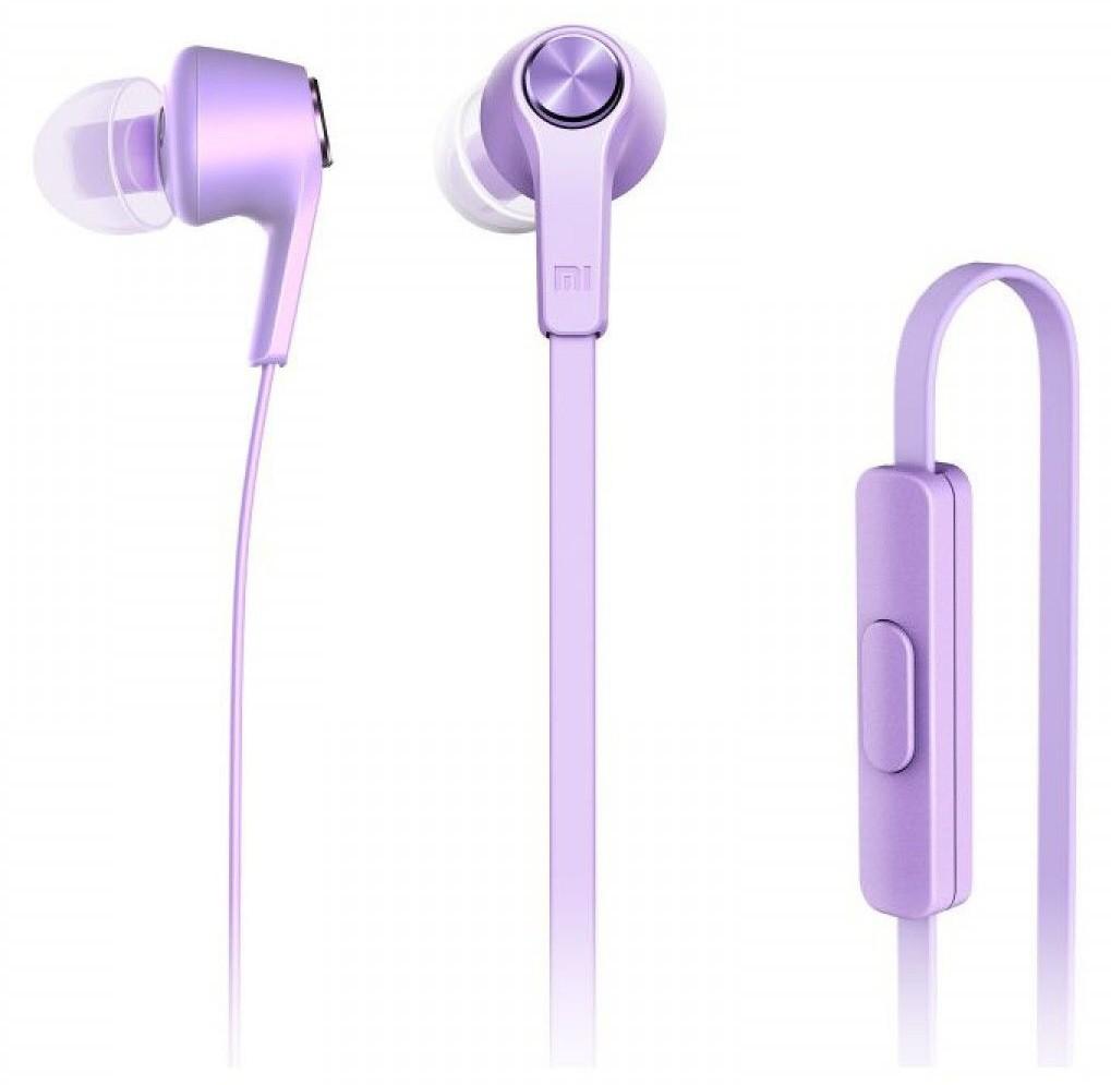 Наушники Xiaomi Piston Colorful Edition Purple - Фото 1