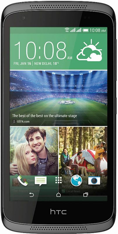 Смартфон HTC Desire 326G DS Black - Фото 1