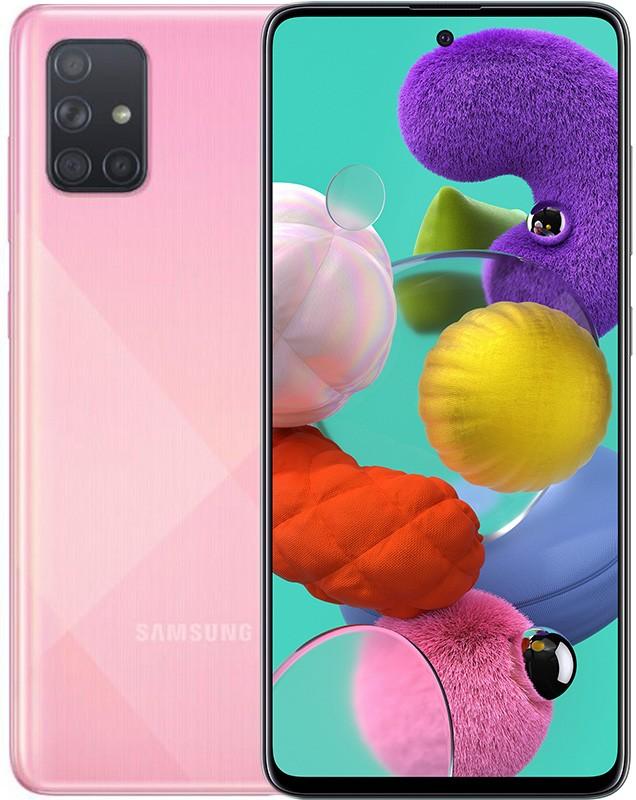 Купить Смартфоны, Samsung Galaxy A71 A715F 8/128GB Pink