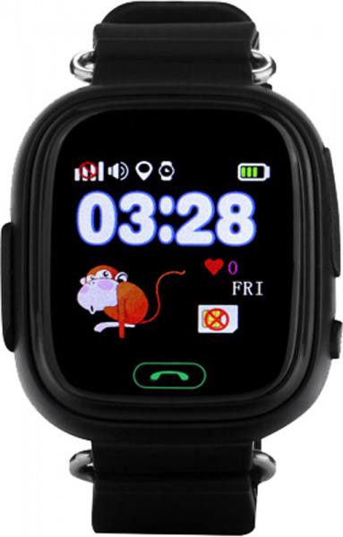 UWatch Q90 Kid smart watch Black - фото