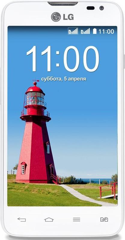 Смартфон LG L65 Dual D285 White - Фото 1