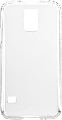 Чехол-накладка Drobak Elastic PU для Samsung Galaxy S5 G900 White\Clear