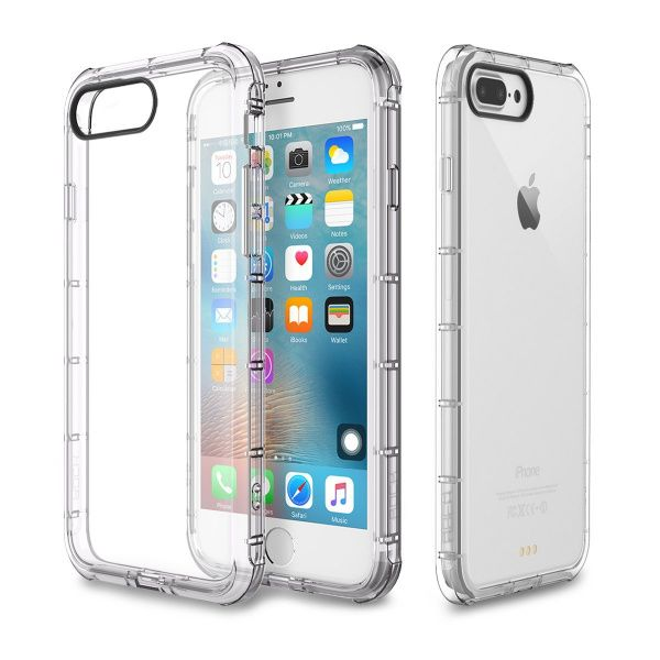 Rock TPU Case Fence series iPhone 7 Plus Transparent - фото