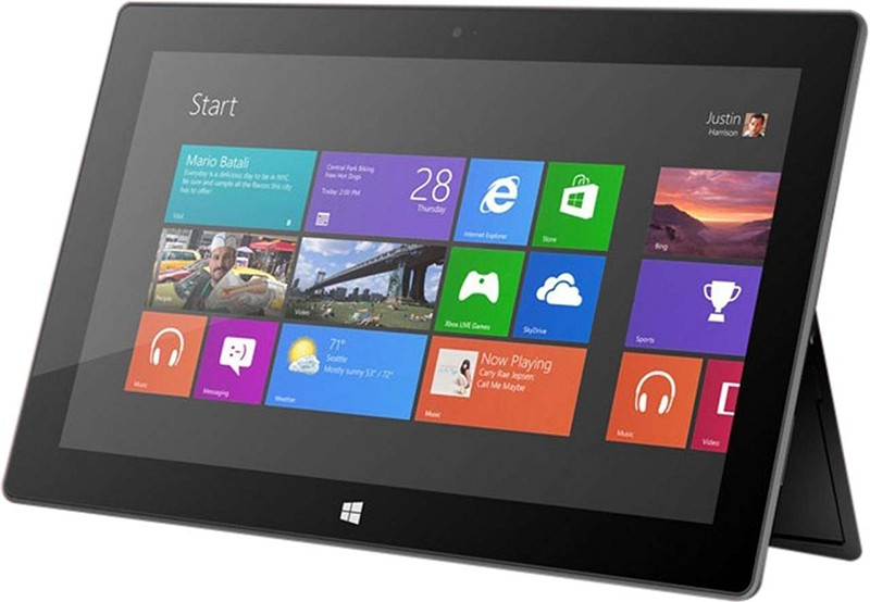 Планшет Microsoft Surface RT 32GB Black с чехлом Touch Cover - Фото 1