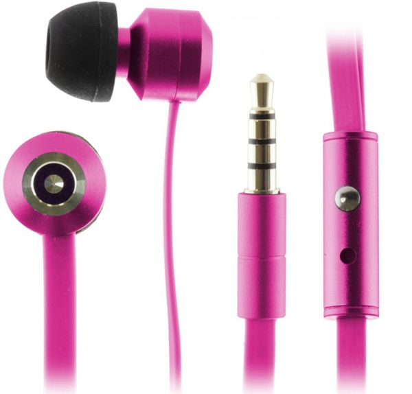 KitSound Ribbons earphones Pink - фото