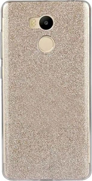 TOTO TPU Case Rose series 2 Xiaomi Redmi 4 Gold - фото