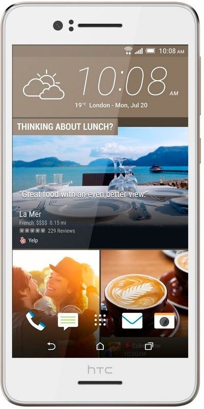 Смартфон HTC Desire 728G Dual Sim White - Фото 1
