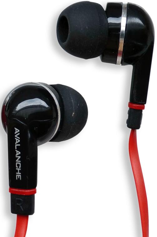 Наушники Avalanche AEF-МР3-384 красные - Фото 1