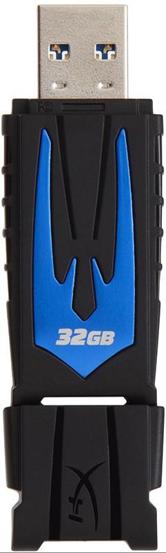 USB Flash Kingston DataTraveler HyperX Fury USB 3.0 32Gb Blue - Фото 1
