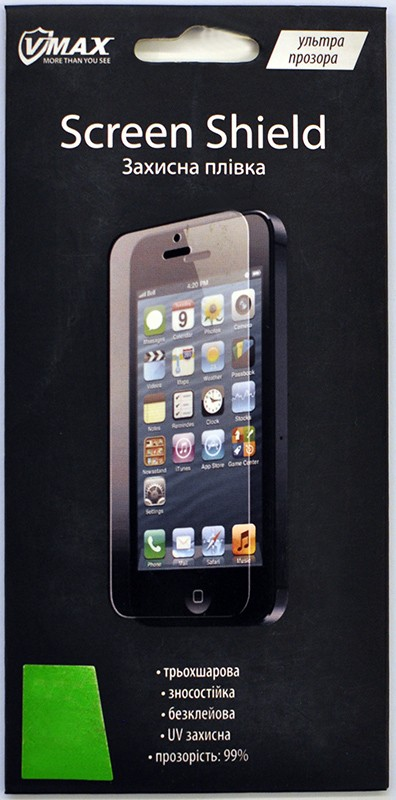 Защитная пленка Umax iPhone 4/4S 2 in1 clear - Фото 1