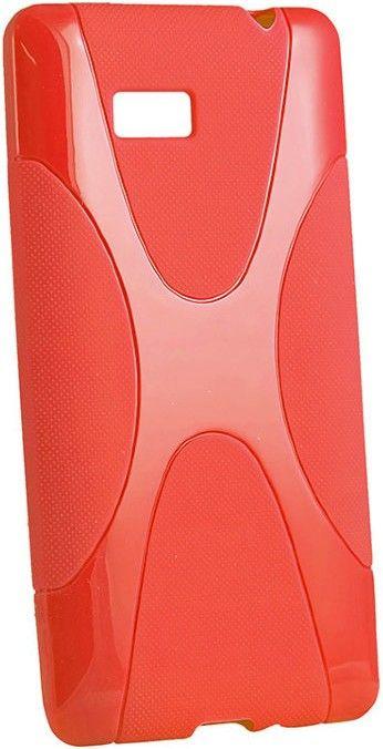 Чехол-накладка New Line X-series Case для Nokia X Red - Фото 1