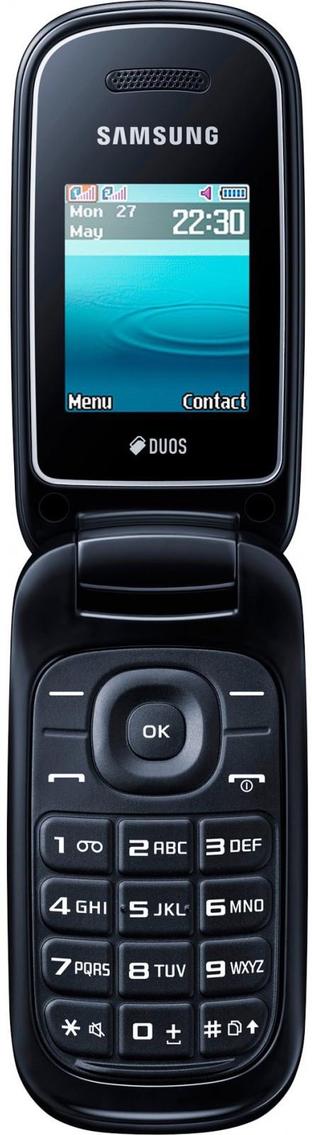Мобильный телефон Samsung E1272 Noble Black - Фото 1