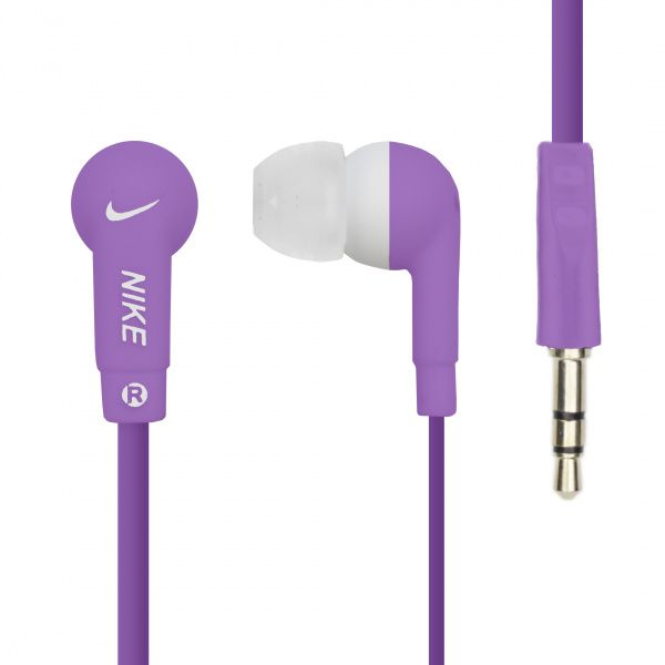 Nike NK-008 Earphone Purple - фото