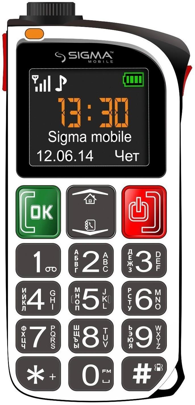 Мобильный телефон Sigma mobile Comfort 50 Light White - Фото 1