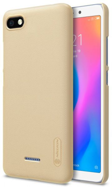 Nillkin Super Frosted Shield Xiaomi Redmi 6A Gold - фото