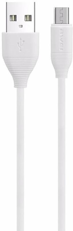 Купить Кабели и переходники, AWEI CL-94 Micro cable 1m White