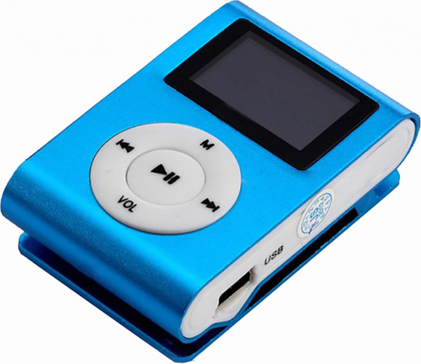 TOTO TPS-02 With display&Earphone Mp3 Blue - фото