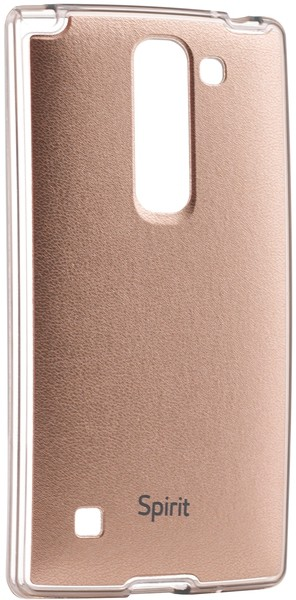 Чехол-накладка VOIA Magna Jell Skin для LG Optimus Spirit Y70 H422 Gold - Фото 1