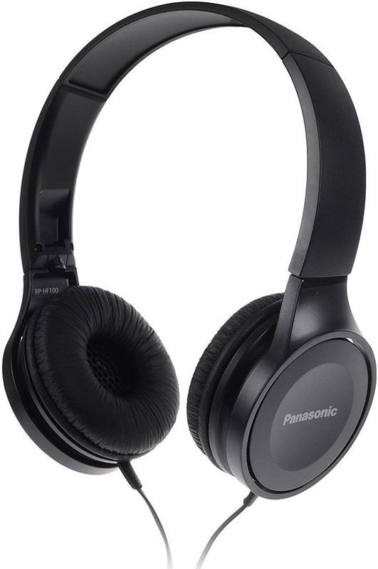 Купить Наушники и гарнитуры, Panasonic RP-HF100GC-K Black