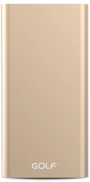 GOLF Power Bank 10000 mAh Edge 10 Li-pol Gold
