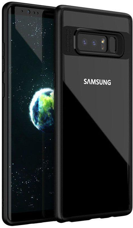 Купить Чехлы для телефонов, Ipaky Transparent Acrylic with TPU bumper Samsung Galaxy Note 8 Black