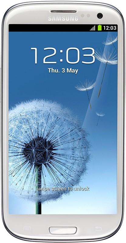 Смартфон Samsung Galaxy S3 Dual Sim I9300I Onyx White - Фото 1