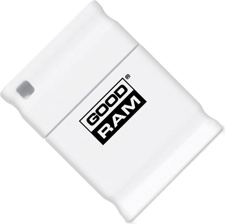 USB Flash Goodram PICCOLO RETAIL 10 8Gb White - Фото 1