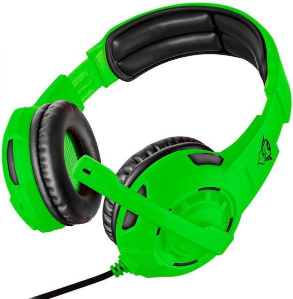 Trust GXT 310-SG Gaming Headset (22392) Green - фото