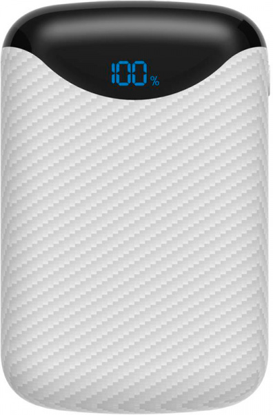 Cager C10 Power Bank 10000 mAh Li-Polimer White - фото