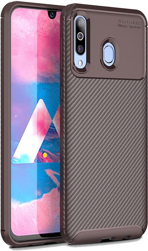 Купить Чехлы для телефонов, TOTO TPU Carbon Fiber 1, 5mm Case Samsung Galaxy A40s/M30 Coffee