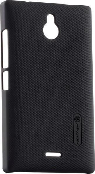 Чехол-накладка Nillkin Super Frosted Shield Nokia Lumia X2 Black - Фото 1