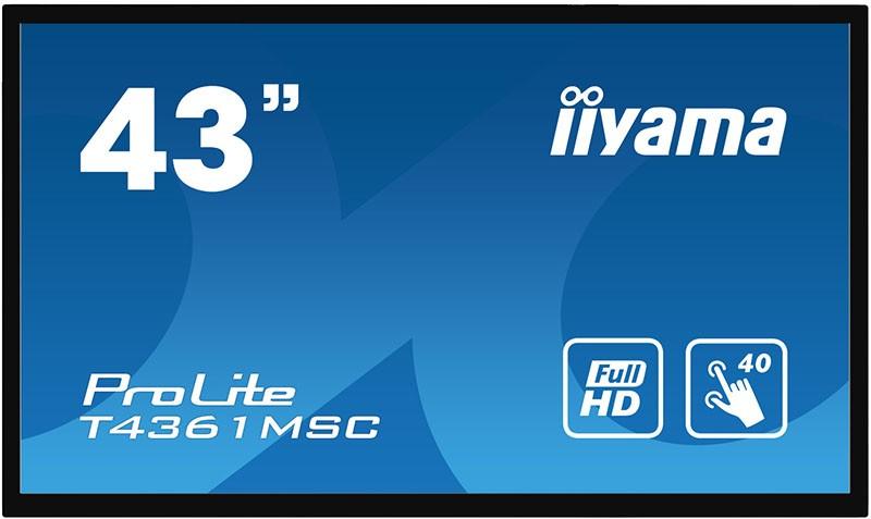 Мониторы, Iiyama T4361MSC-B1  - купить со скидкой