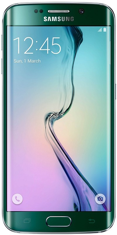 Смартфон Samsung Galaxy S6 Edge G925 128GB Green - Фото 1
