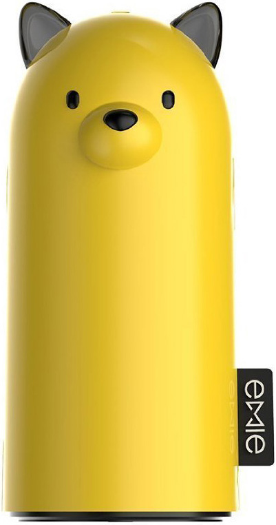 Портативная батарея EMIE Samo D100-FD Power Bank 5200 mAh +D101 Yellow - Фото 1