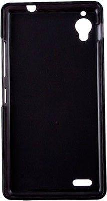 Чехол-накладка Drobak Elastic PU для Fly IQ4412 Black/Clear - Фото 1