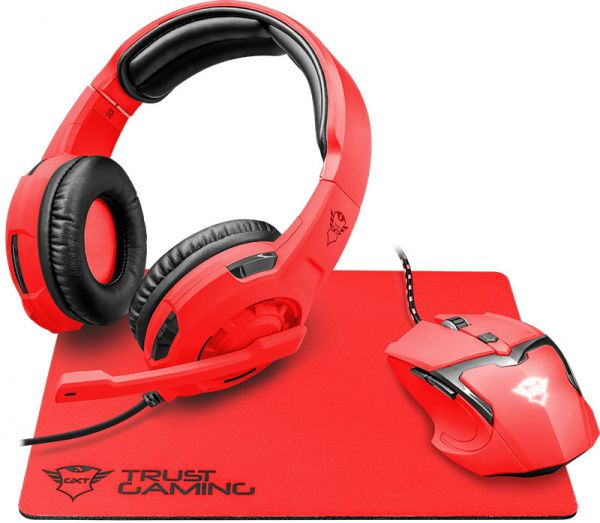 Trust GXT790-SB Spectra Gaming Bundle Red - фото