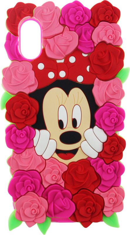 Купить Чехлы для телефонов, TOTO TPU Fluffy Case IPhone X Mini Mouse Pink