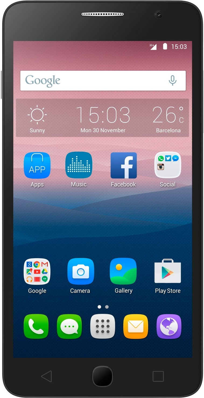 Смартфон Alcatel One Touch Pop Star 5022D Dual Sim White - Фото 1