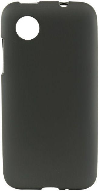 Чехол-накладка Mobiking Silicon Case для LG Max X155 Black - Фото 1