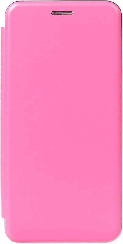 TOTO Book Rounded Leather Case Huawei Y6 2019 Rose Red