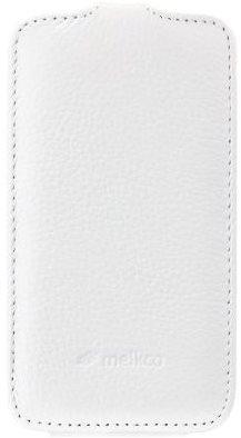 Чехол-флип Melkco Leather Case Jacka для Samsung i8552 Galaxy Win Duos White - Фото 1