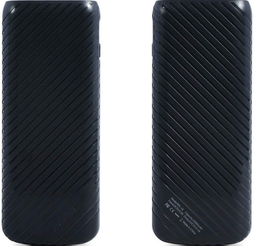 Портативная батарея Remax Power Bank Pineapple Series 10000 mAh Black - Фото 1