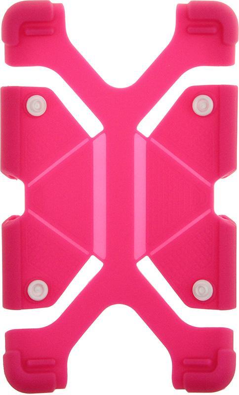 Купить Чехлы для планшетов, TOTO Tablet universal stand silicone case Universal 7/8 Hot Pink
