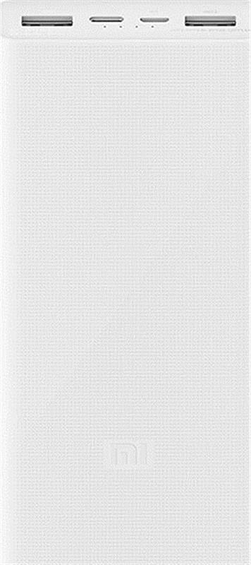Портативные батареи, Xiaomi Mi Power Bank 3 20000mAh Type-C White  - купить со скидкой