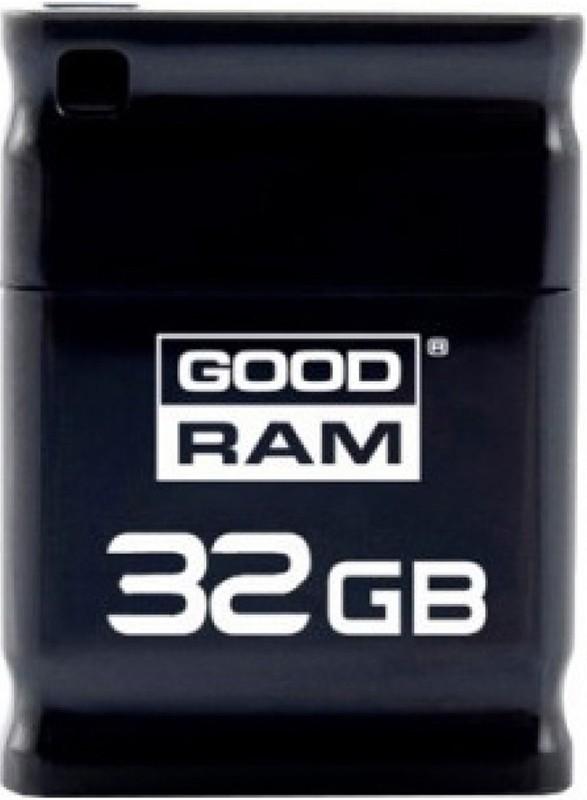 USB Flash Goodram PICCOLO RETAIL10 32Gb Black - Фото 1