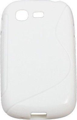 Чехол-накладка Drobak Elastic PU для Samsung Galaxy Pocket Neo S5312 White - Фото 1