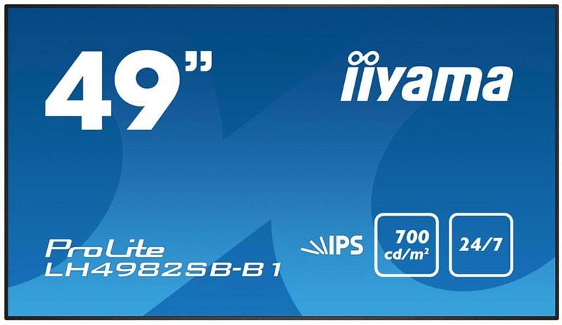 Купить Мониторы, Iiyama LH4982SB-B1